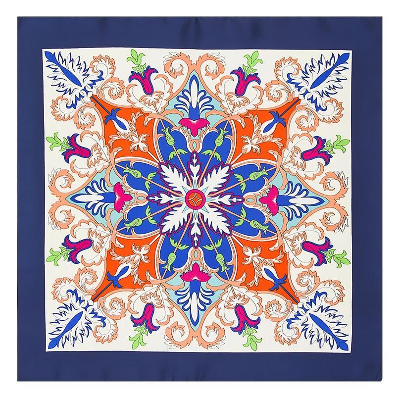 Visual Axles 60 60cm Foulard Bandana Eleimitated Silk Kerchief