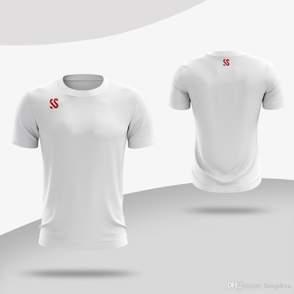 ce52db665 Custom Men Tennis Shirts Badminton Short Sleeve T-Shirts Women Table Tennis  Clothes Breathable Jersey Quick Dry Sports Tops Custom T-Shirt Table Tennis  ...
