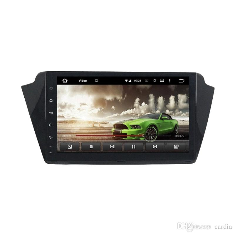 Car DVD player for Skoda Fabia 2015-2017 9inch full touch Octa core Andriod 8.0 with GPS,Steering Wheel Control,Bluetooth, Radio