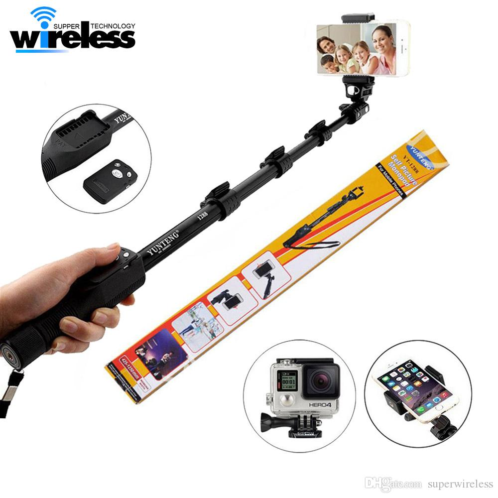 2019 Quality Goods Yunteng 1288 Bluetooth Wireless Extendable Handheld  Selfie Stick Monopod With Zoom For IPhone Samsung Selfie Sticks From  Superwireless, ...