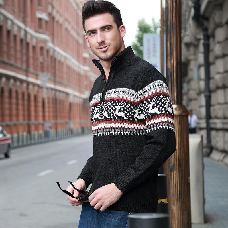 2016 новый высокое качество новый зимний мужской свитер пуловер свитер мужской выбор размер s-xxl