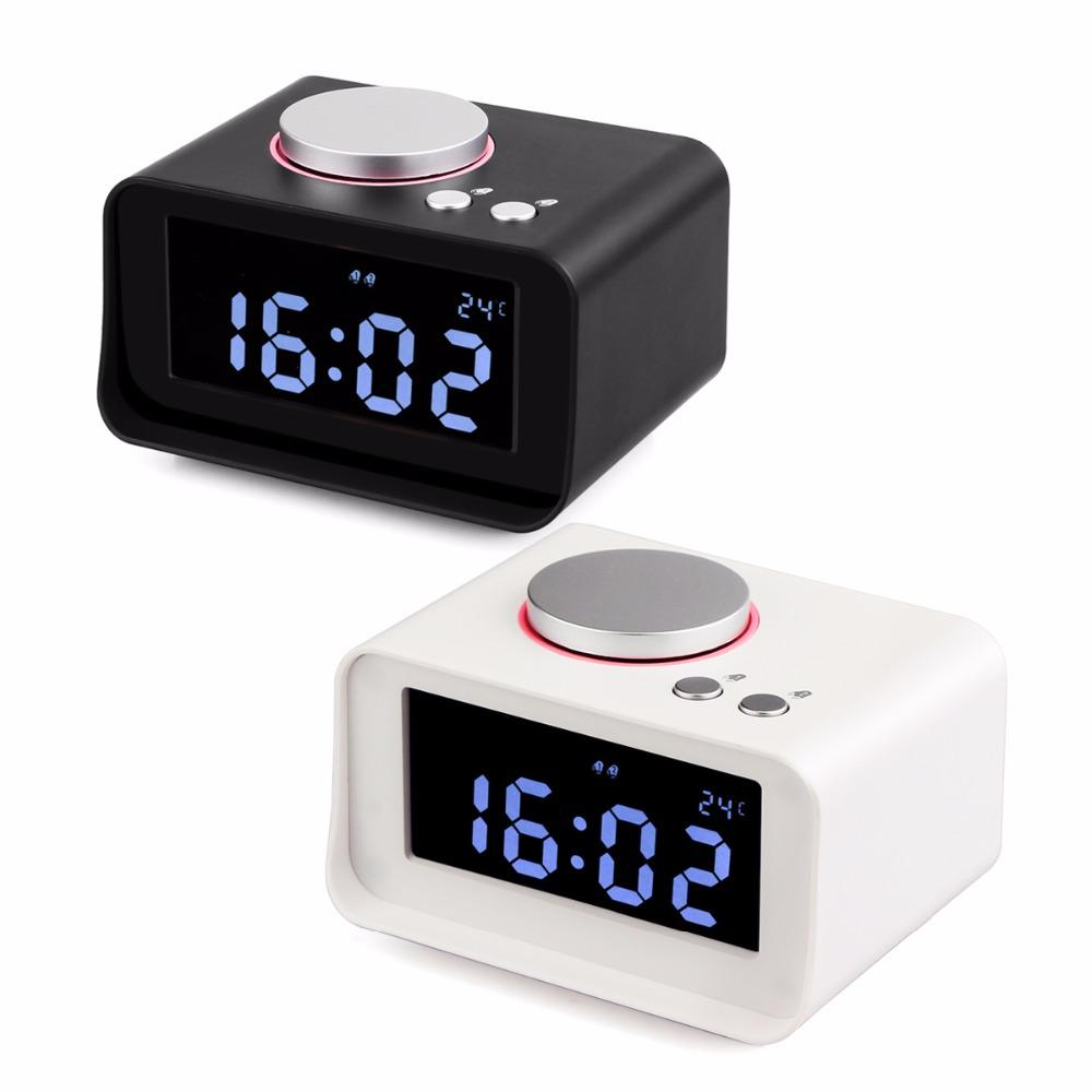 Ordinaire Tabletop Digital Dual Clock Radio Fm Snooze Alarm Clock Radio With Lcd  Display Phone Usb Charger Speaker Y4434b Radio Scanner Radio Transmitter  From Xanto, ...