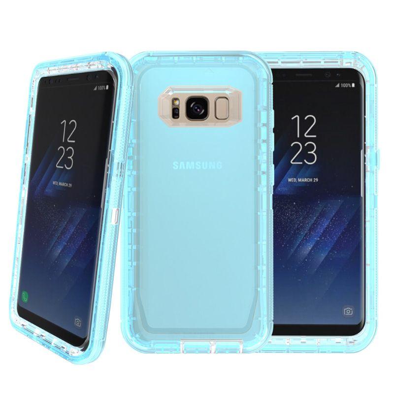 c374614bb17 Forros Para Celular 3 En 1 Claro Robot Transparente Defender Casos Para  IPhone X 8 7 6 Plus Samsung S8 S9 Plus Nota 8 Fundas Moviles Chinos Por  Casessary