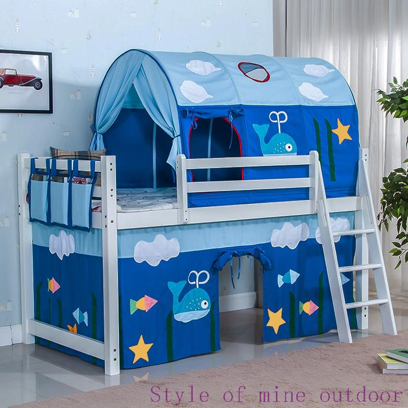 Children S Bed Tent Boy Blue Sleeping House Car Whale Warm Cartoon Tent