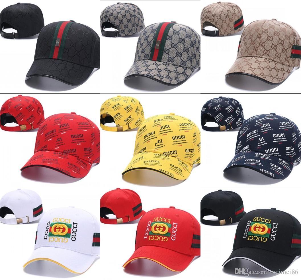 2018 New Unisex Designer Cap Women Men Baseball Hats Cotton ... d351cbbe051