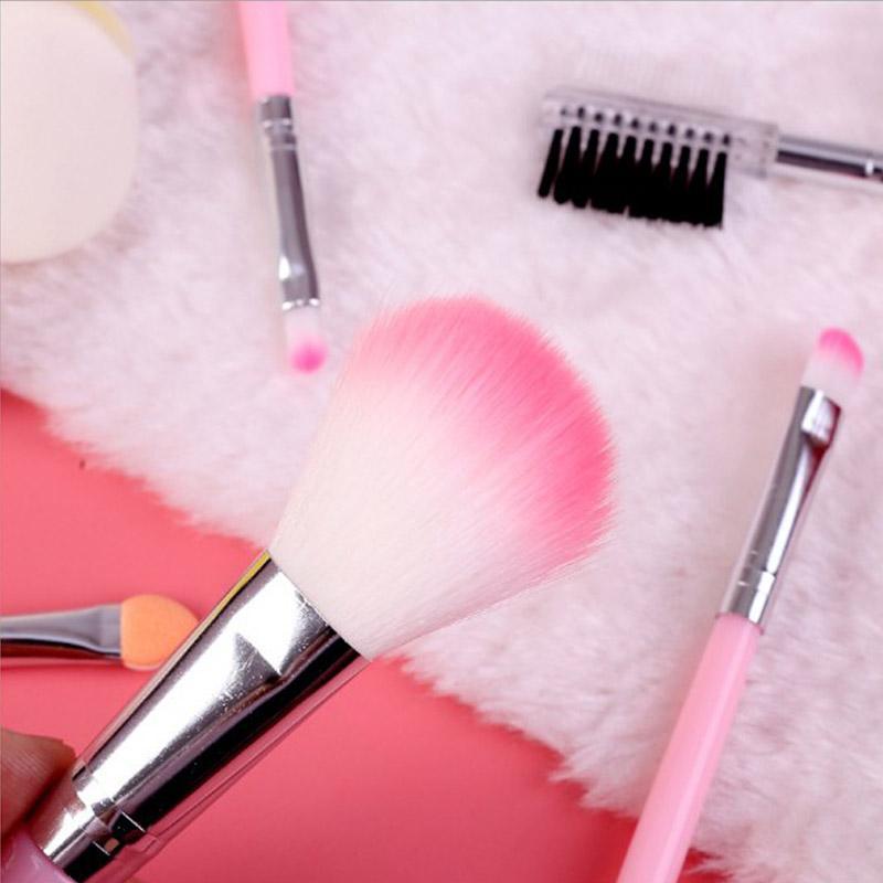 / rosa Professional grupo de escova Boa Qualidade compo escovas para iniciantes Beauty Kit Ferramentas