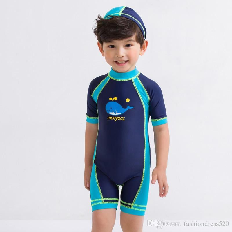 be70c10cd0 2019 9 Styles Child Swimwear One Piece Boys Girls Swimsuits Kids Bathing  Suits Baby Swimsuit Girl Children Beach Wear Diving Swimming Suit DHL From  ...