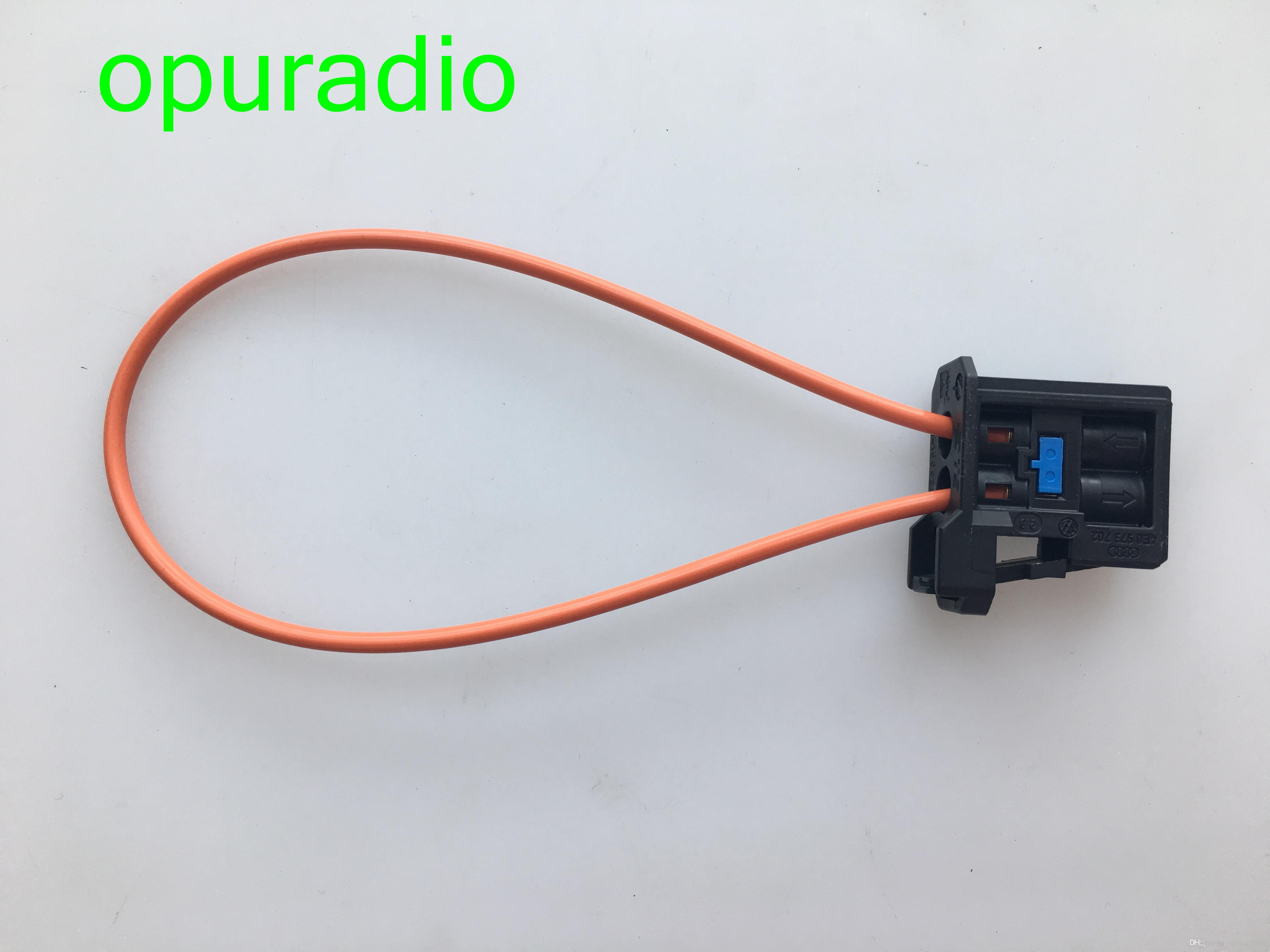 Female man MOST Optical Optic Fiber Cable Loop Connector Diagnostic Device Tool Navigation Systems for VW Audi BMW Mercedes 1 car
