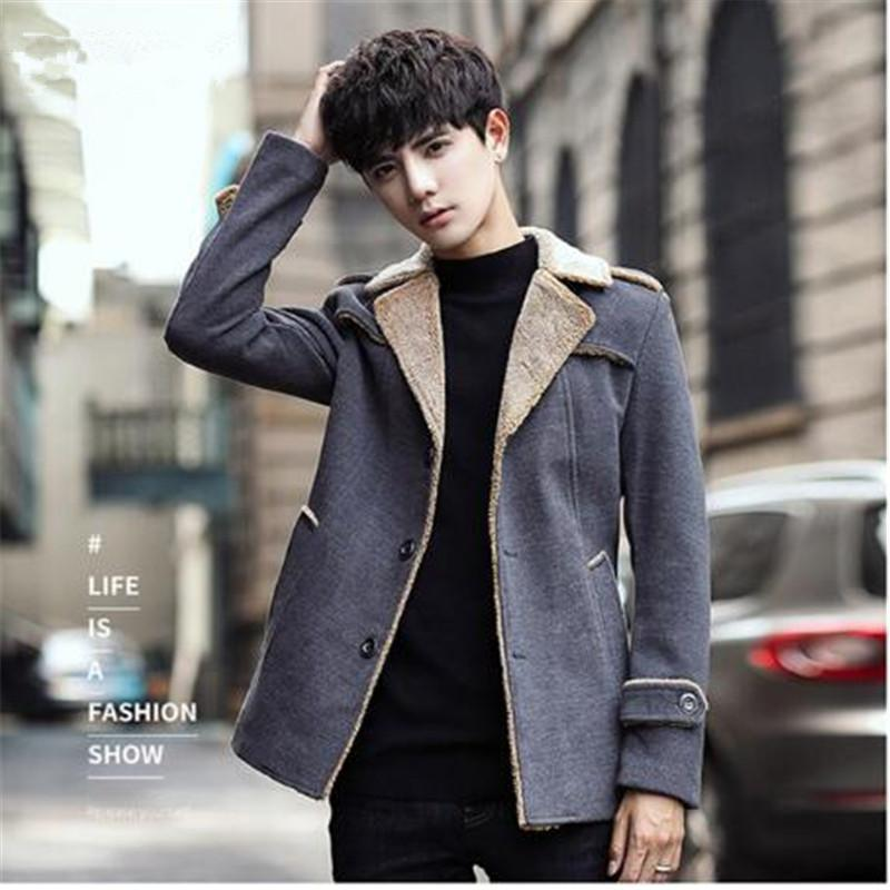 b7b24dd9a33b3 2019 Plus Size M 4XL 2018 Korean Style Mens Coats Overcoats Fashion Winter  Dress Coat Mens High Quality From Meicloth, $105.96 | DHgate.Com