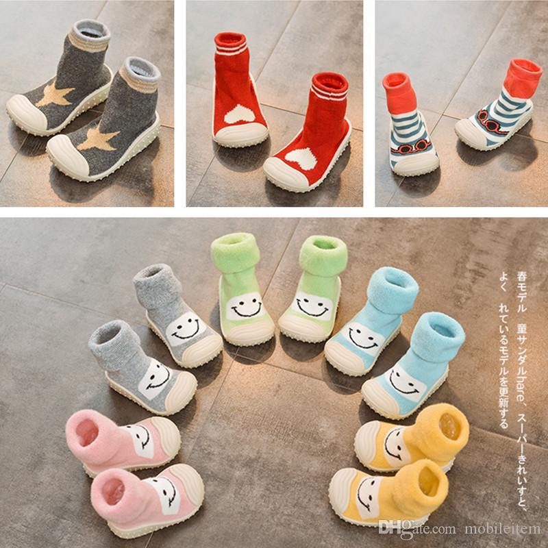 Grosshandel Rutschfeste Kinder Weichen Boden Schuhe Baby Indoor