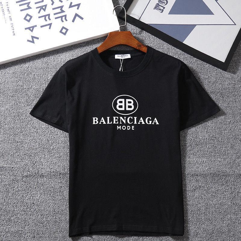 ff391b3e3e3401 Großhandel Damen Herren 2018 Neue Mode T Shirt Mit Marke Brief Druck Mode  Designer Top Tees Kurzarm Casual T Shirt S 2XL Von Sogana