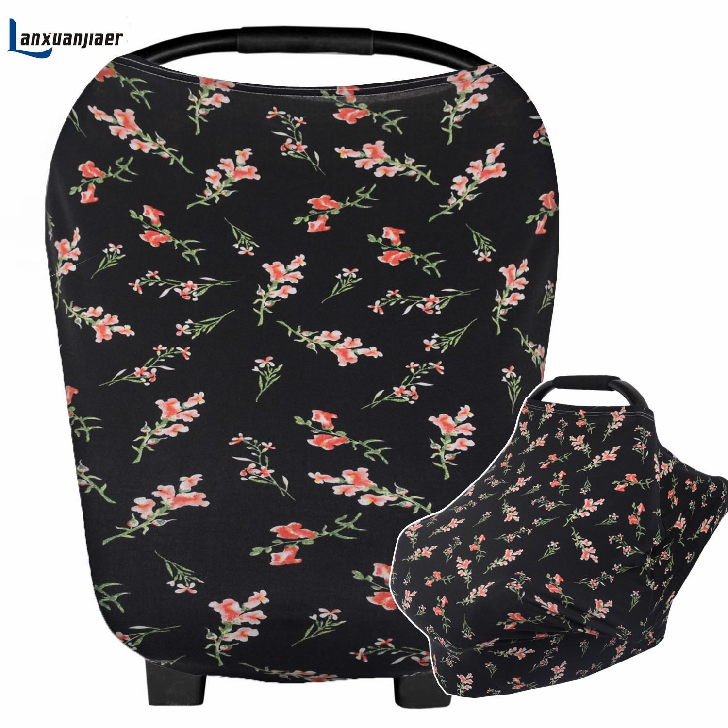 Lanxuanjiaer Baby Car Seat Cover Nursing Cover Car Seat Canopy ...