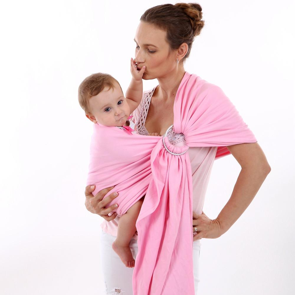 Comfortable Infant Wrap Soft Baby Carrier Breathable Baby Stretchy Ring Sling Kids Hipseat Breastfeeding Cover Mochila