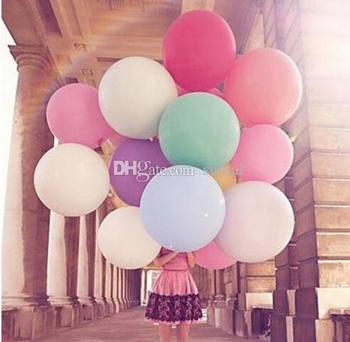 36 Inch Latex Balloons Wedding Decoration Birthday Party Christmas Decorative Novelty Kids Children Toy Ball Gifts Gold Silver Clear