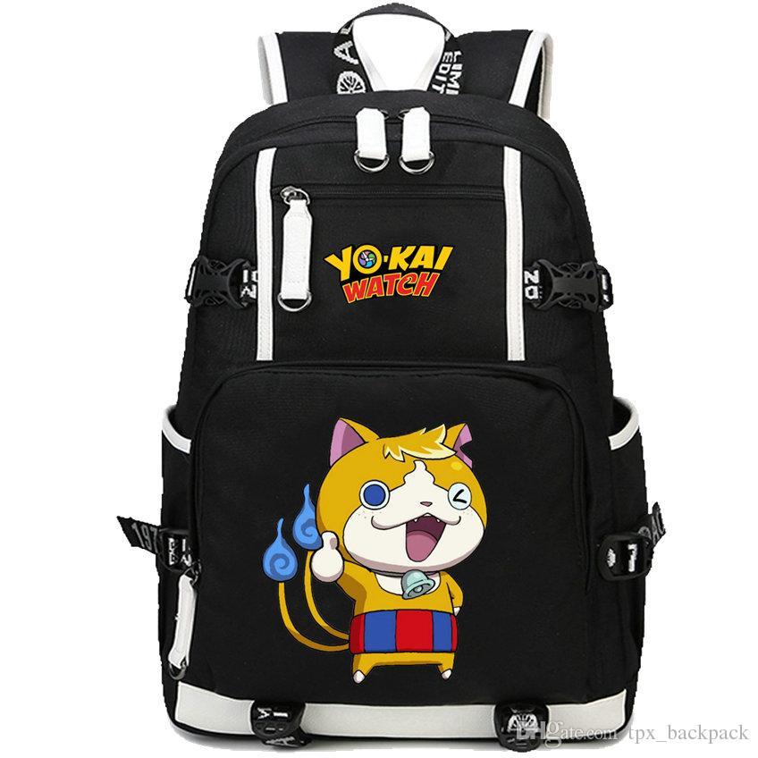 56bd818c81 Yokai Watch Backpack Nathan Adams Pack Cartoon Game School Bag Leisure  Packsack Quality Rucksack Sport Schoolbag Outdoor Daypack Swiss Gear  Backpack Osprey ...