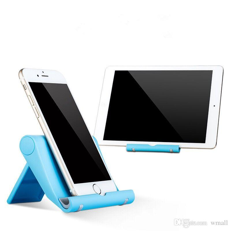 Многоцветный настольный универсальный складной держатель для мобильного телефона складной держатель ленивый стент для планшетных ПК все смартфоны бесплатная доставка