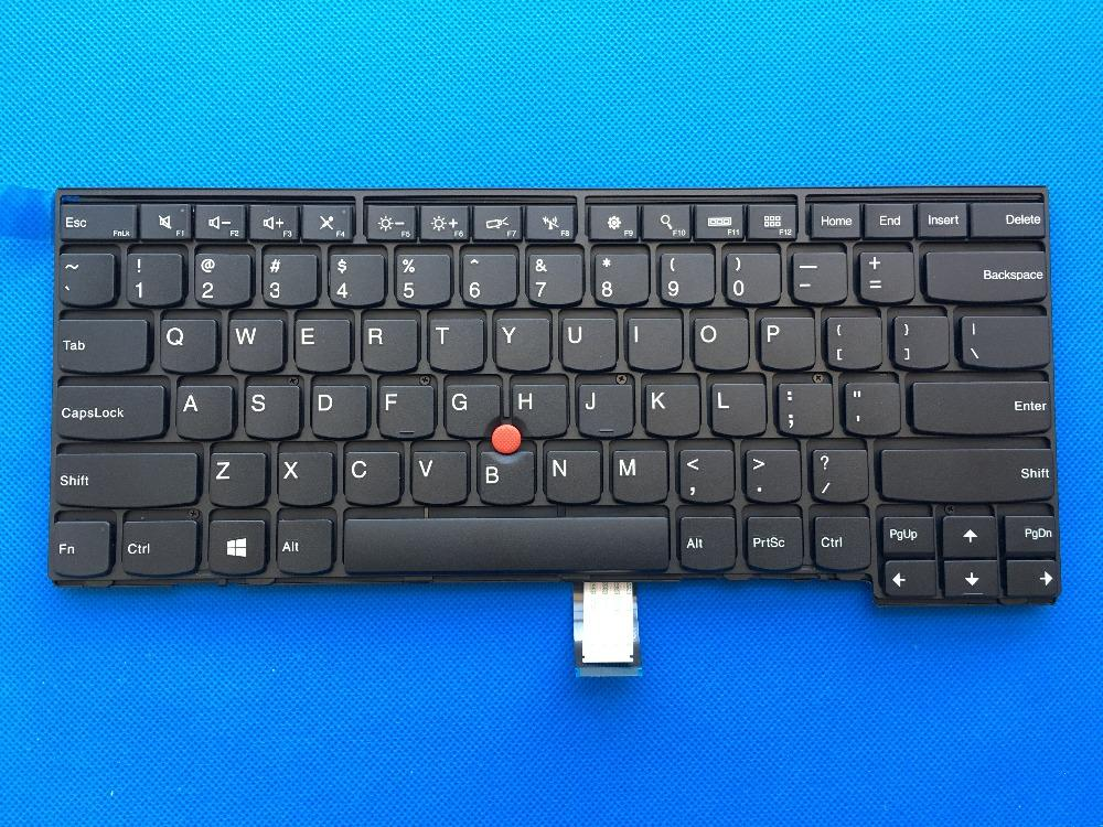 New Original for Lenovo ThinkPad L440 L450 T440 T440P T431S T440S T450  T450S T460 US English Keyboard No Backlit 04Y0824 04Y0862