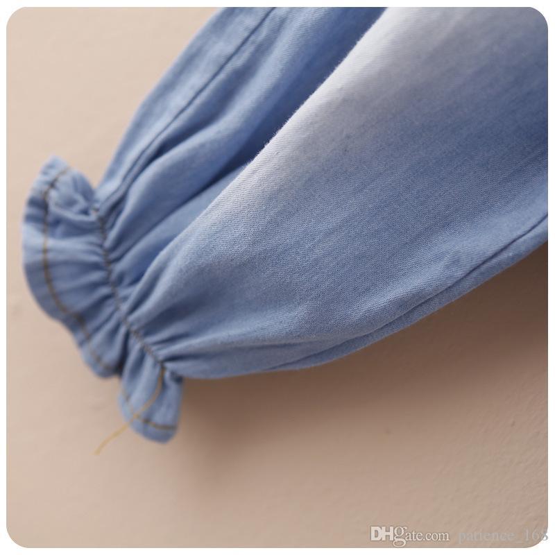 kot 2018 INS yeni varış bebek çocuk sevimli Karikatür domuz kaliteli Orta lotus yaprağı dantel pantolon ücretsiz kargo bahar