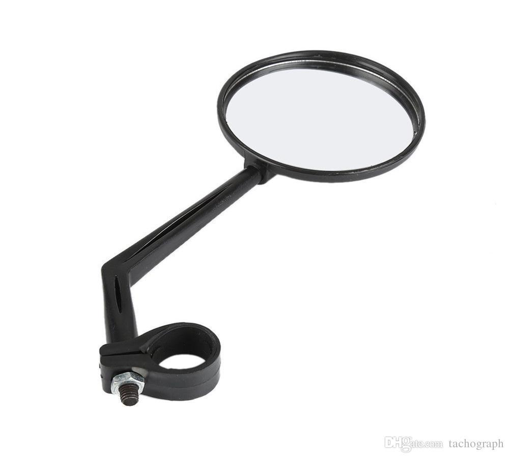Регулируемый мотоцикл велосипед конец руля стекло гибкие широкоугольные велосипедные поворотные зеркала заднего вида отражающий велосипед