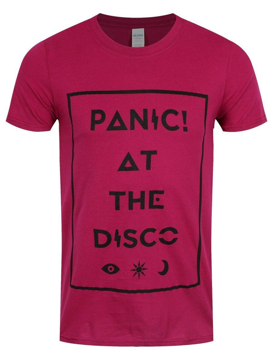 T Homme Disco At Icons Shirt Panic Rose The kiZPuX