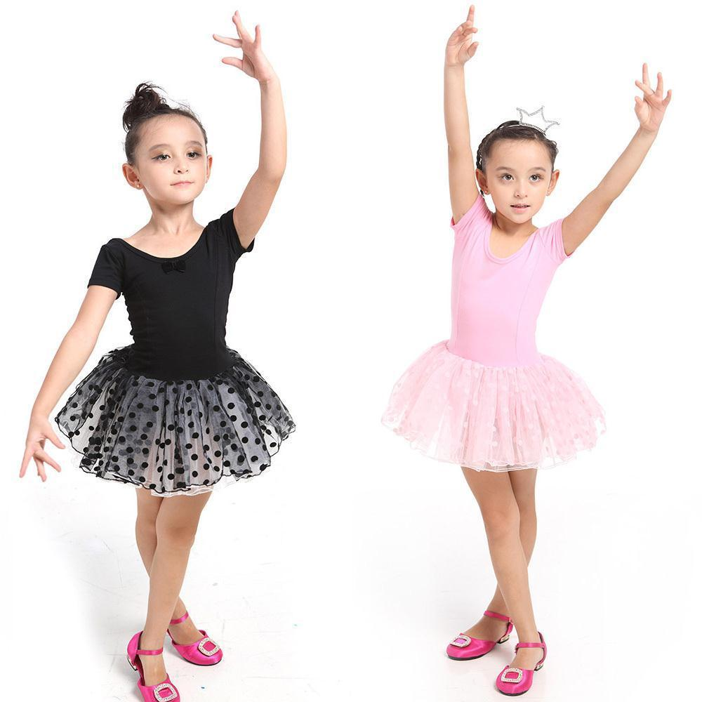 0148c8013 2019 Girls Kids Dance Wear Leotard Ballet Tutu Skate Costume Dance ...