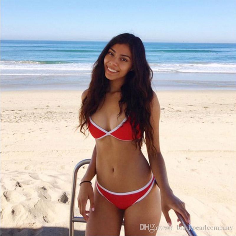 Mini Micro Brazilian Bikini 2018 Neue Badebekleidung Frauen Sommer Sexy Bikini Set Strand Tanga Badeanzug Badeanzüge