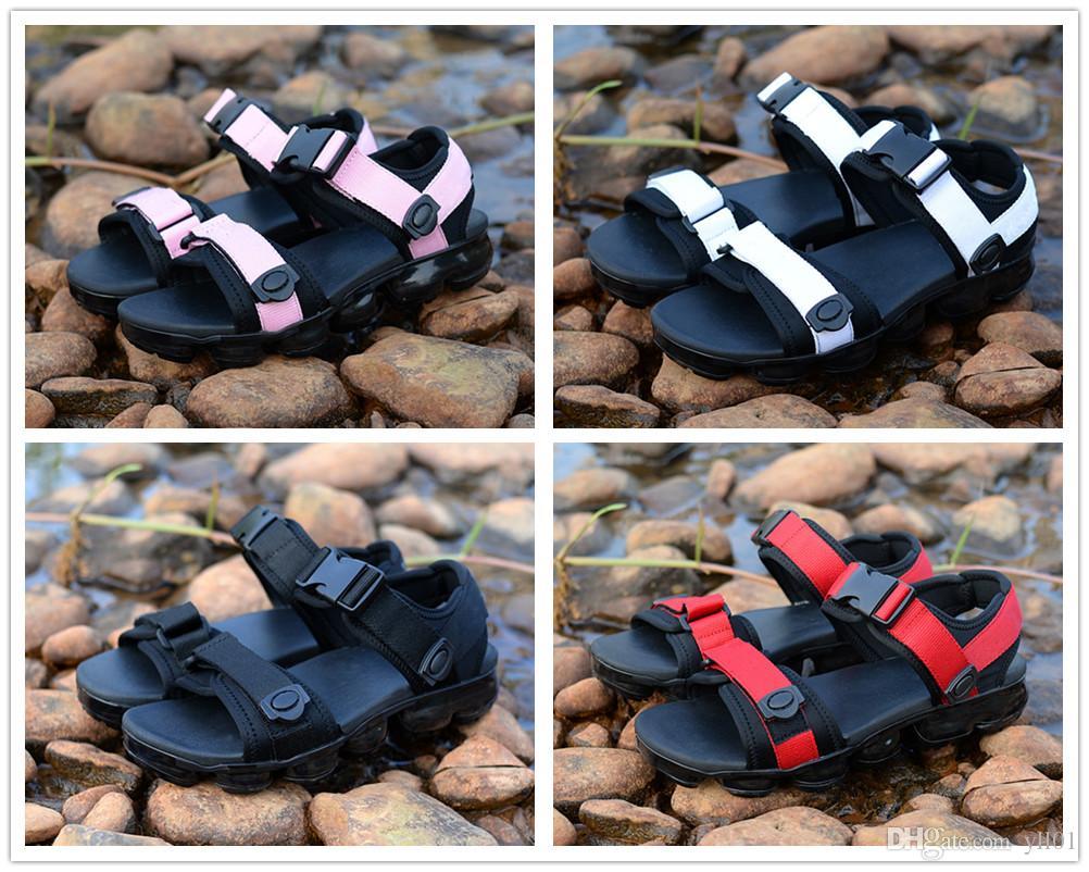8535f8c1854 Hot Sale Vapormax Men Women Unisex Cork Flip Flops Sandles Summer Sports  Fashion Shoe Leather Slippers Cool Slipper Casual Sandal 36 44 Shoe Shop  Cute Shoes ...