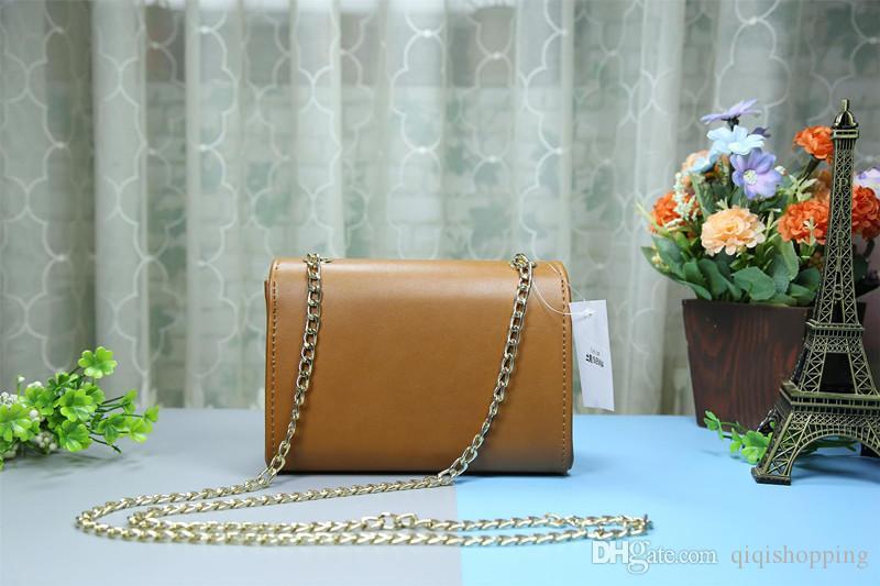 Klasik çanta kadın Zincir çanta Bayanlar lüks Yüksek Kaliteli Çanta Moda Omuz Messenger çanta tote çanta cüzdan size19 * 5 * 12 cm