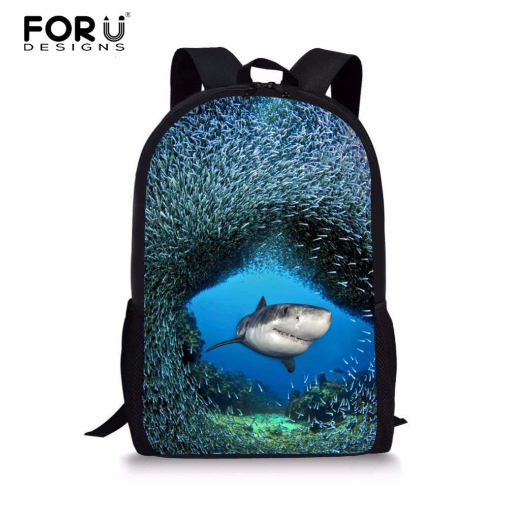 FORUDESIGNS 2018 Children'S School Bags Coral