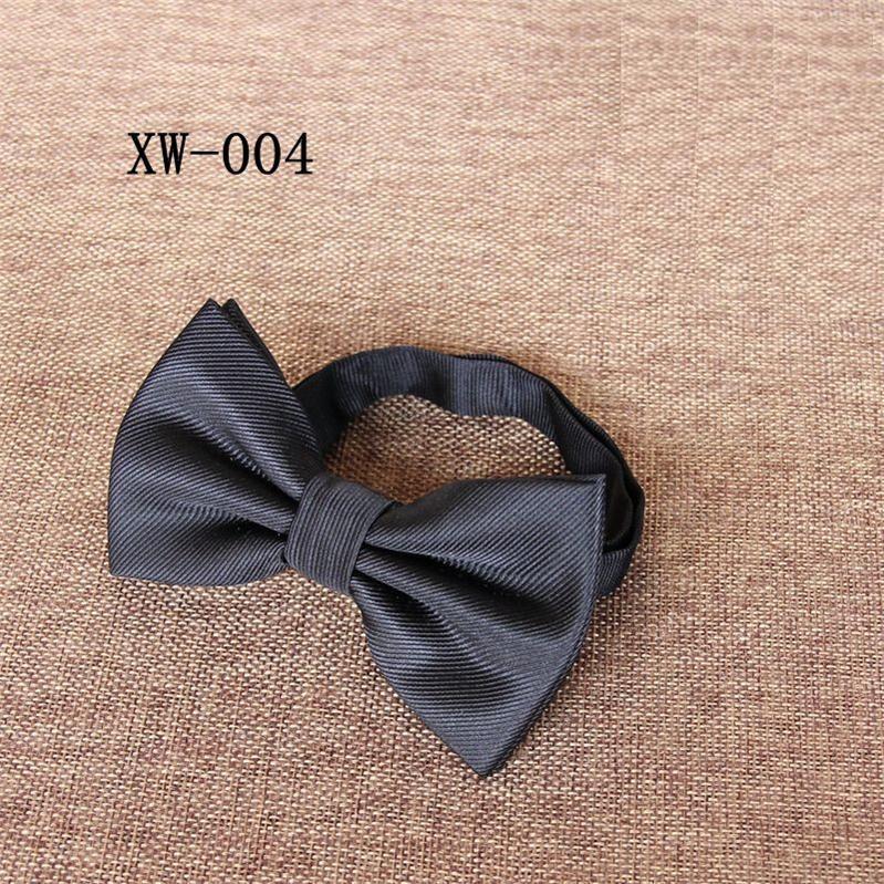 1200 high density bow tie strip borboleta para homens de negócios de casamento bowknot 15 cores vermelho preto azul roxo bowties 2 pçs / lote