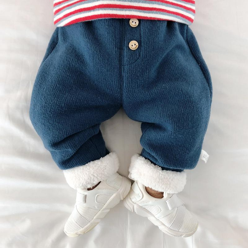 Baby Warm Pants Baby Trousers Newborn Slacks Winter