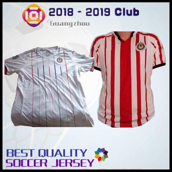 2019 Size S XXL 2018 2019 Mexico Club Chivas De Guadalajara Soccer Jersey  Home Away 18 19 Reyna O.BRAVO NIGRIS A.PULIDO Football Shirts From  Fanshomejerseys ... 2f0b3d115