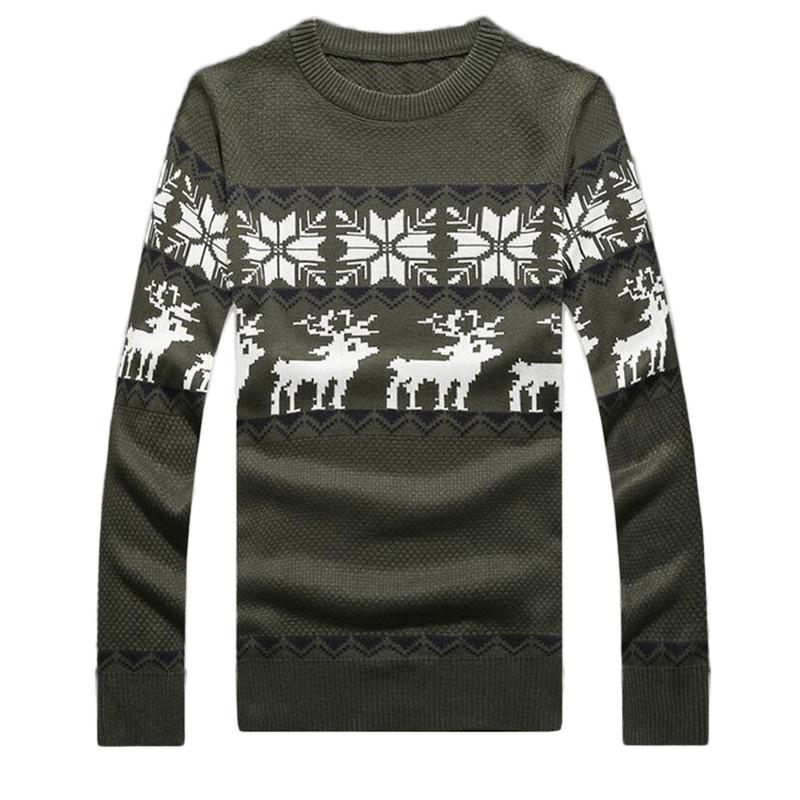 2018 Wholesale Autumn Mens Ugly Deer Christmas Sweater Fashion Deer ...