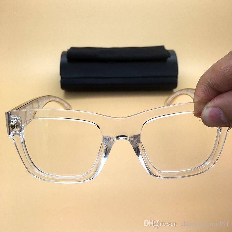 Großhandel Square Eyewear Acetat Legends Sonnenbrille Clear Frame ...