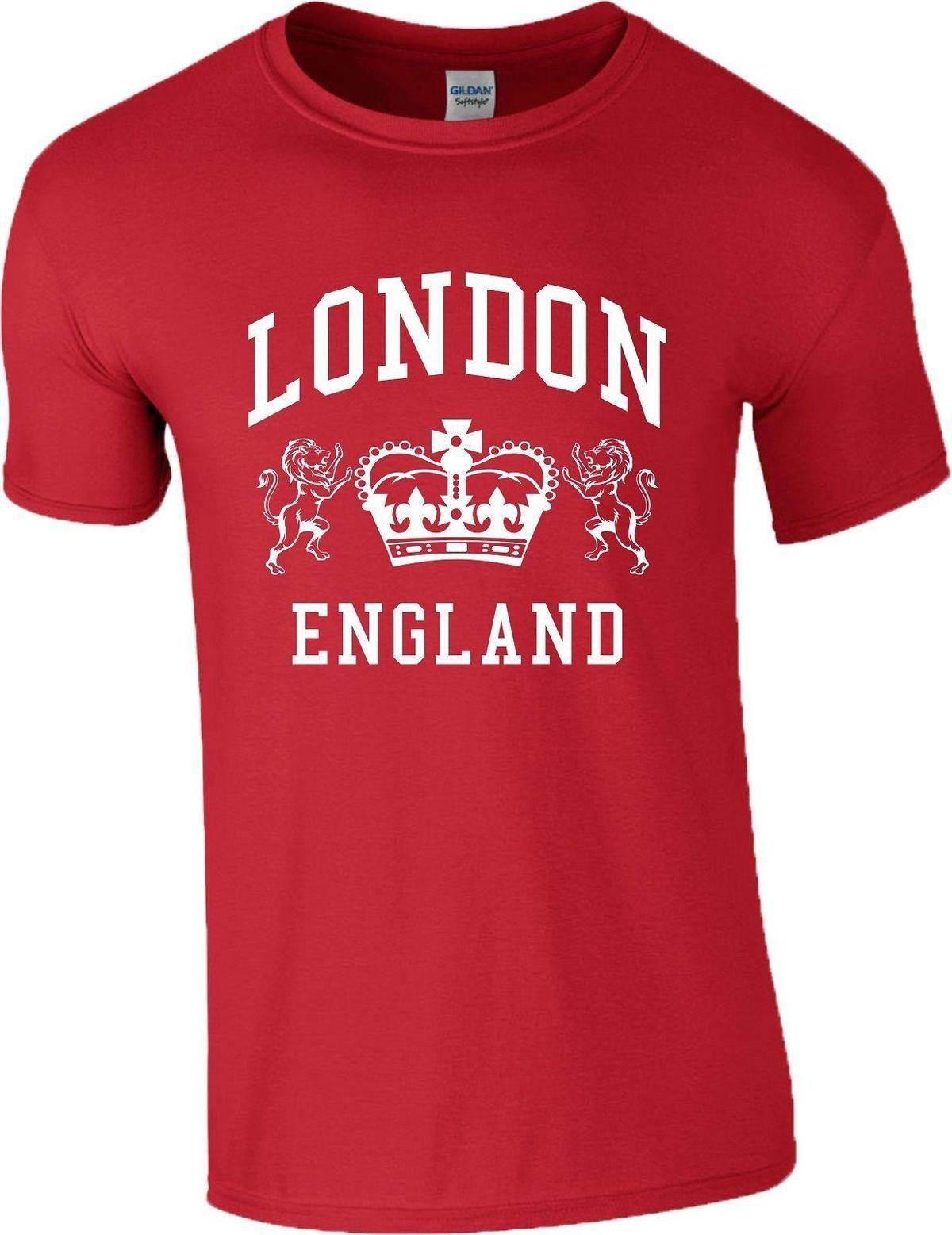London England T Shirt Novelty Souvenir Tourist