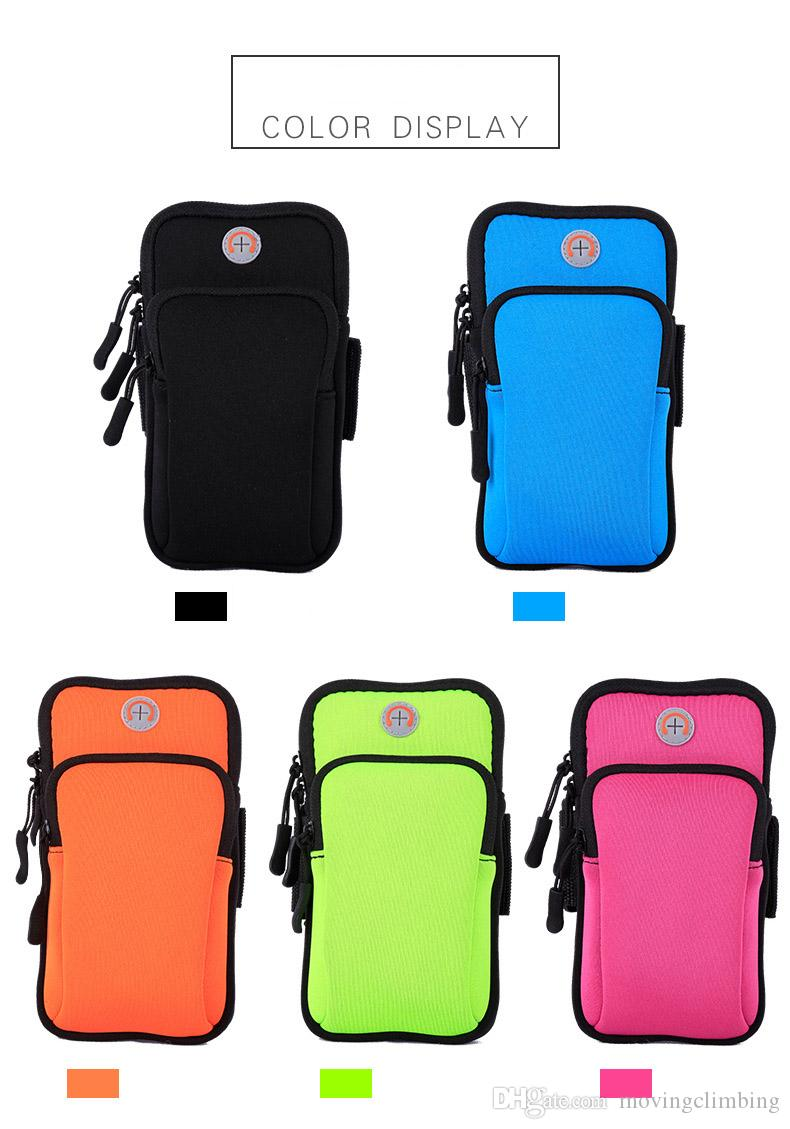 For Iphone 6 Waterproof Sports Running Case Armband Running bag Workout Armband Holder Pounch For iphone Cell Mobile Phone Arm Bag Band