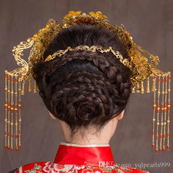 Cocar traje noiva acessórios para o cabelo hairpin hairpin qualquer passo trepidação
