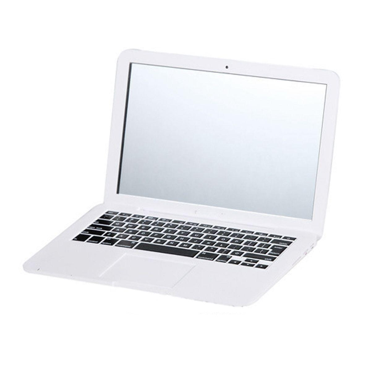MirrorBook Air White Mini Novel Maquillage MirrorBook Air Mirror Pour Apple MacBook En Forme de 88