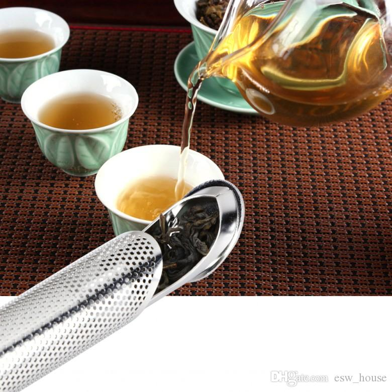 Pipe Design Tea Strainer Amazing Stainless Steel Tea Infuser Touch Feel Good Tea Tools