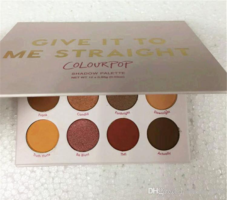 جديد Colourpop لوحة ظلال إعطائها لي عينيه على التوالي 12 لوحة الألوان ماكياج ظلال العيون دي إتش إل