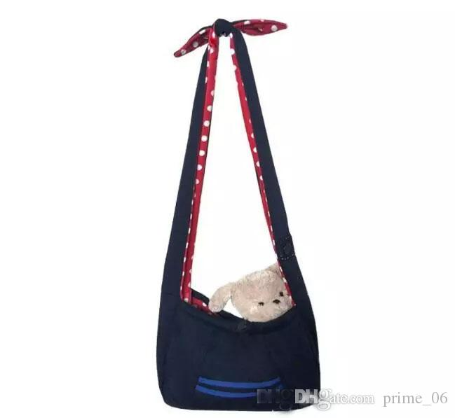 4c254259fe 2019 Pet Dogs Cats Cloth Slings Totes Shoulder Bags Backpacks Carriers  Outdoor Portable Travel Backpacks Many Colors From Prime 06
