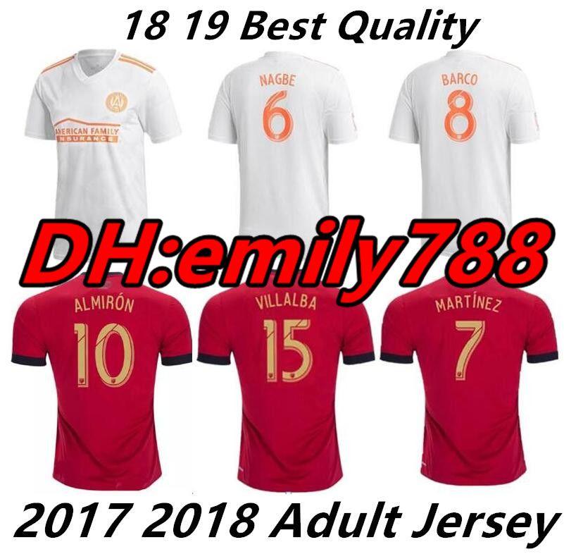 Compre 2018 2019 Atlanta United Fc Camisa De Futebol Em Casa 18 19 ALMIRON  JONES MARTINEZ GARZA VILLALBA De Emily788 4135fb9d1ad08