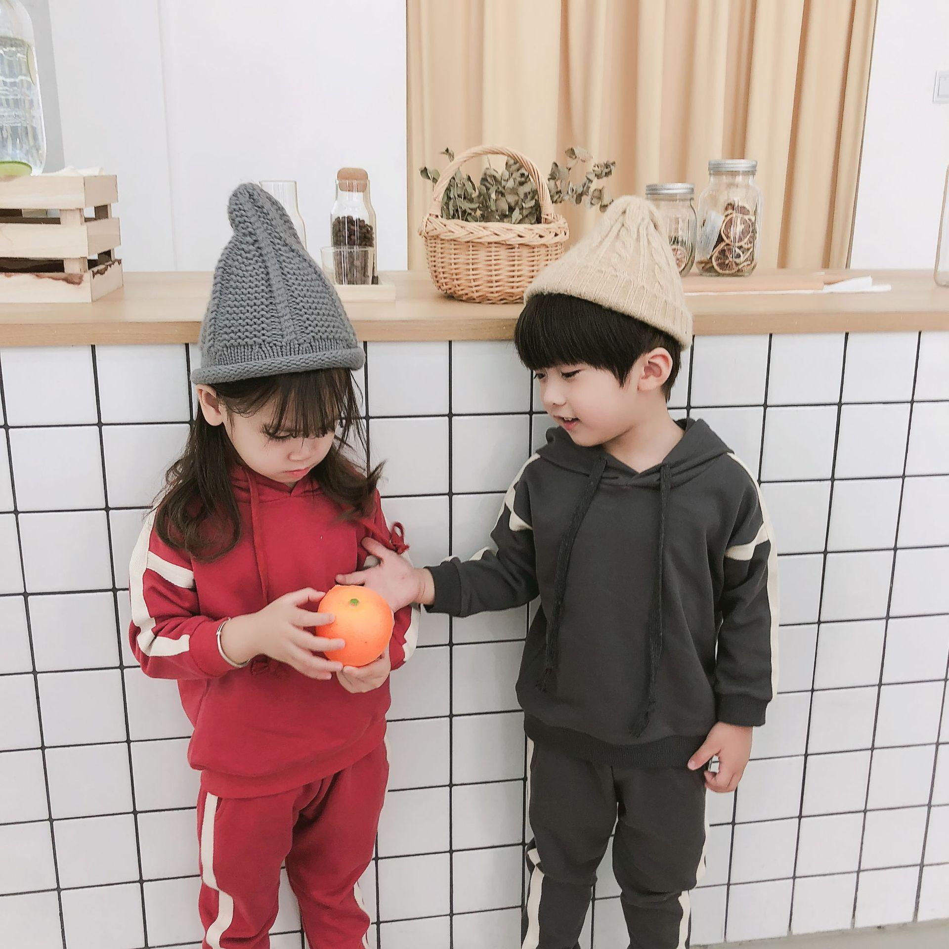 2019 2018 Autumn New Men S And Women S Children S Wear Casual Sports Set  Two Piece Children S Baby Set From Linfengzi 8f02a5158d