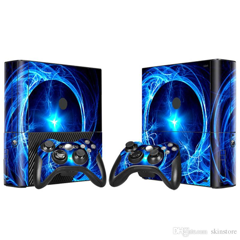 2018 china manufacturer vinyl decal sticker skins for xbox 360 e