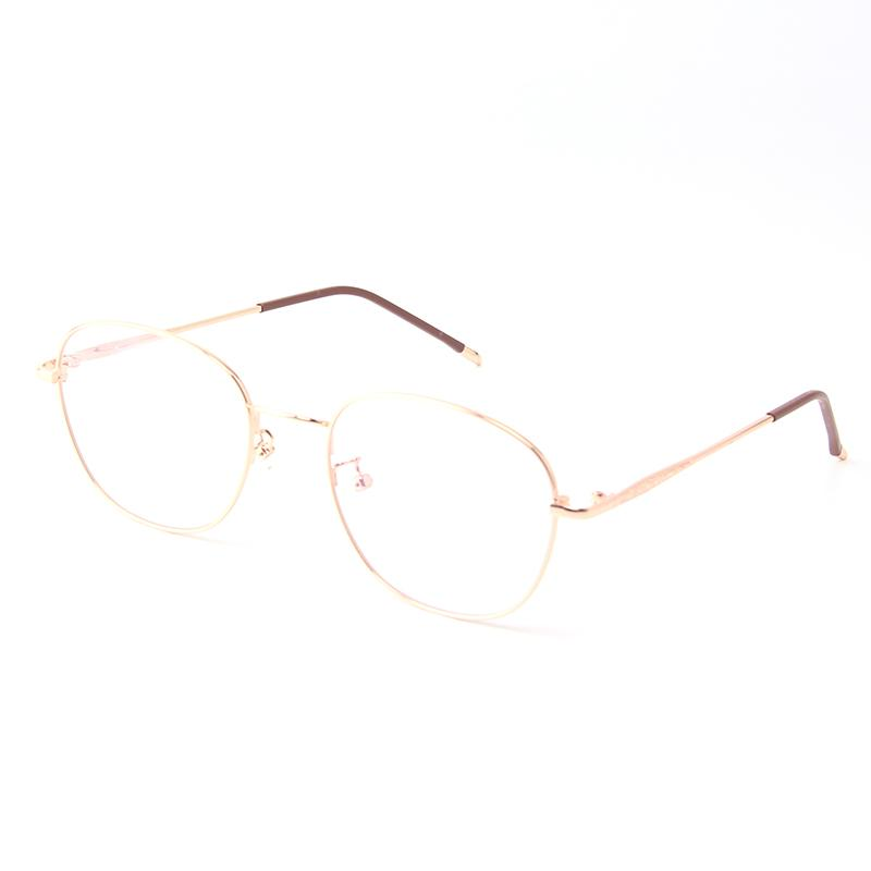 bda6bd475eb00d Acheter Lunettes De Vue Pour Femmes Vintage Ovale Hommes Lunettes De Vue  Lunettes De Vue Optiques Pour Myopie Cadres En Alliage De Métal Femme Oculos  1936 ...