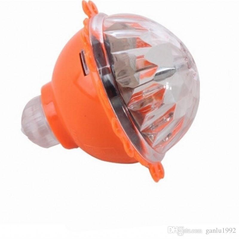 Lichtblitz Mit Voller Geschwindigkeit Reibung Lumineszierendes Gyroskop Kinder Neuheit Spitzenträgheit Drehen Gyro Spielzeug 1 25sk W