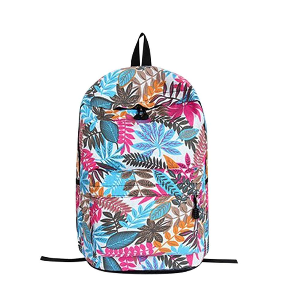 abc7499f2d5d College Backpack Teenage Girls School Backpack Bag Leaves Printing Female  Students Bags Best Selling 20181106 Camera Backpack Back Packs From Flaky