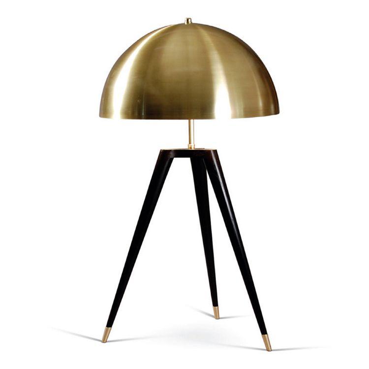For Table Fashion Tripot Light Designer Lighting Replica Lamp Bedroom Arc Bronze Desk Lamps Italian Rqjc4A3L5