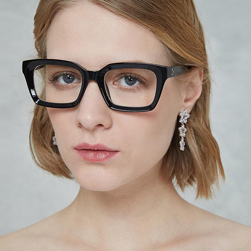 32ef045f6 Compre Moda Retro Transparente Falso Eye Glasses Mulheres Homens Óculos  Claros Óculos Óculos Óculos Grandes Quadros Miopia Óptica Eyewear De  Homejewelry, ...