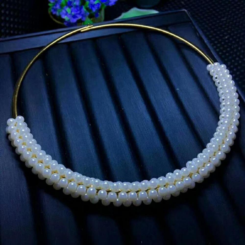 Grosshandel Erstaunliche Shell Perlen Halskette Dinner Parties